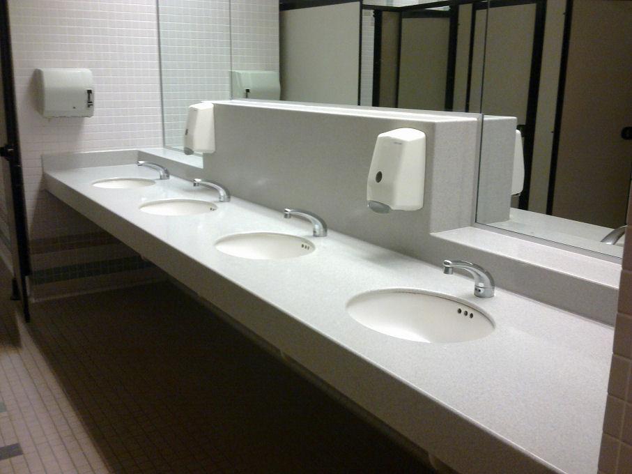 Pulizia bagni pubblici
